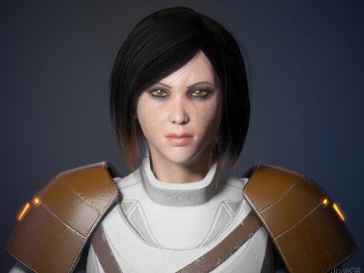 Sci fi character